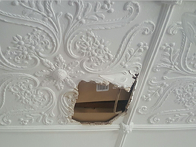 Ceiling And Plaster Repairs